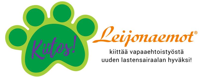 Leijonaemot kiittää vapaaehtoistyöstä uuden lastensairaalan hyväksi!