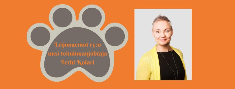 Leijonaemot ry:n uusi toiminnanjohtaja on Terhi Kolari