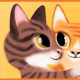 kissasisarukset halaavat